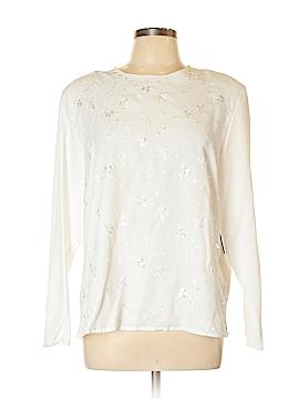 Karen Scott Long Sleeve Blouse Size L
