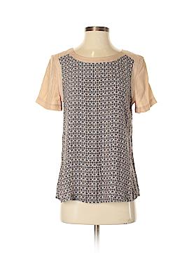 Addison Short Sleeve Silk Top Size S