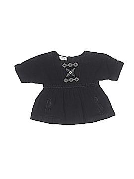 Pearls & Popcorn Short Sleeve Blouse Size 18 mo