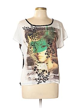 Love J Short Sleeve Blouse Size XL