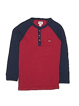 Lucky Brand Long Sleeve Henley Size S (Kids)