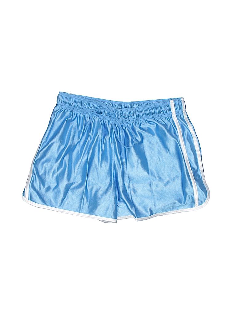 Bcg 100 Polyester Stripes Light Blue Athletic Shorts Size L 33