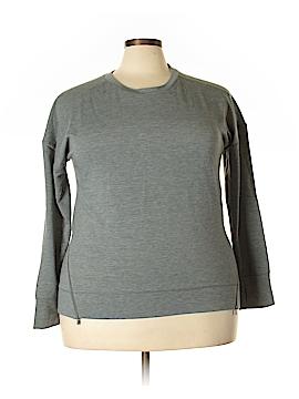 Cuddl Duds Sweatshirt Size 1X (Plus)