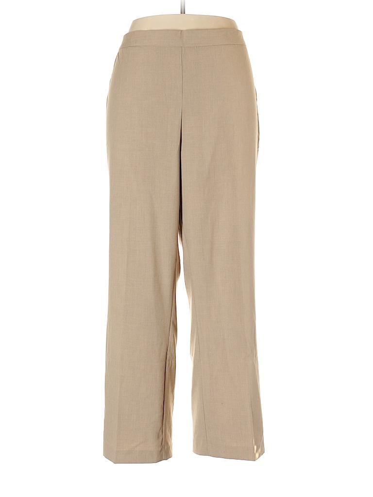 Catherines Women Dress Pants Size 1X (Plus)