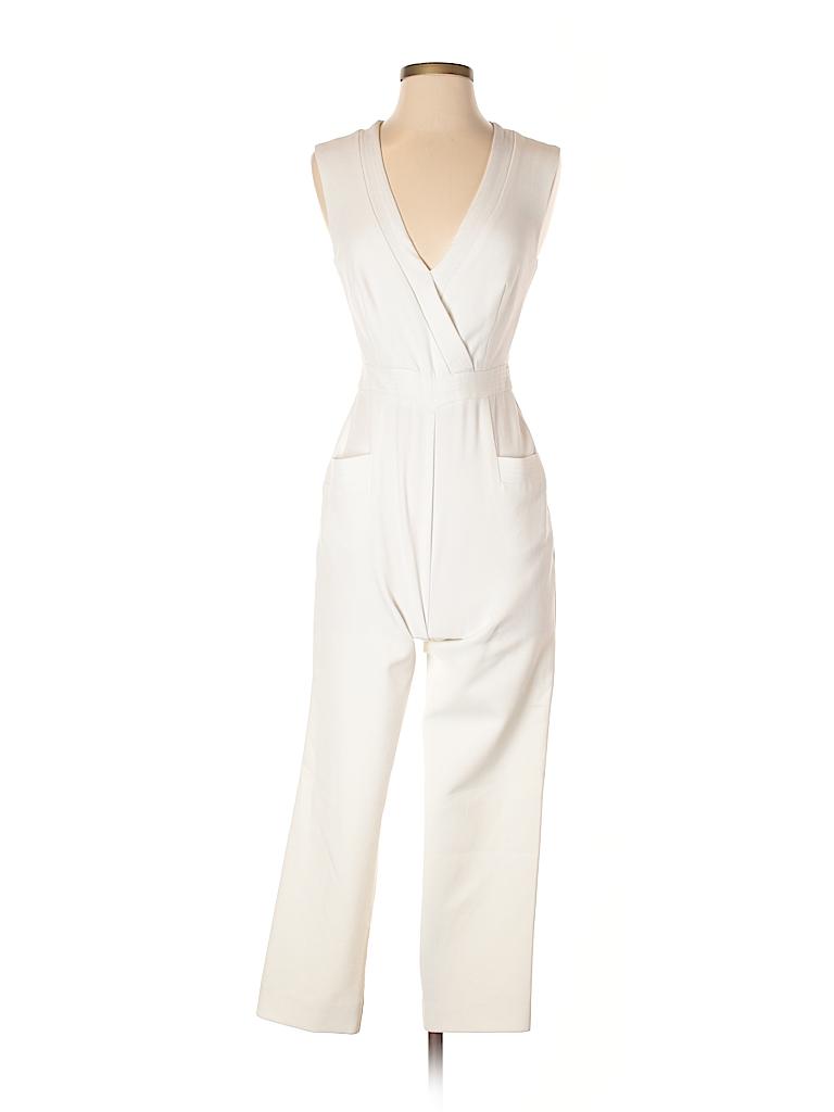 99261b0d83f9 Trina Turk Solid White Jumpsuit Size 2 - 78% off