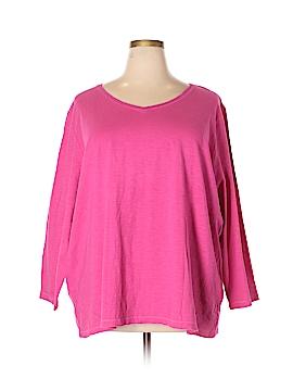 White House Black Market Long Sleeve T-Shirt Size 1X (Plus)