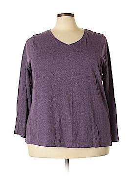 SONOMA life + style Long Sleeve T-Shirt Size 3X (Plus)