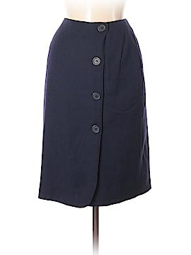 Harve Benard by Benard Haltzman Wool Skirt Size 8