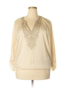 Bebe Long Sleeve Blouse Size L