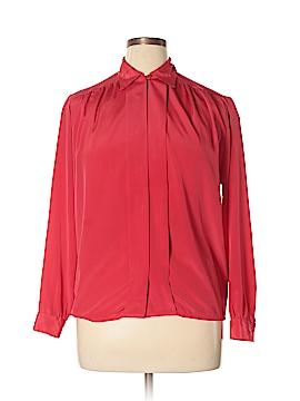 Worthington Long Sleeve Blouse Size 14
