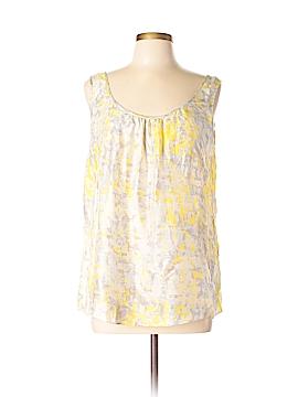 CAbi Sleeveless Silk Top Size L