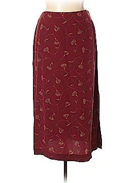 Eddie Bauer Silk Skirt Size 16