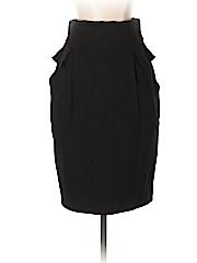 Hanii Y Women Wool Skirt Size 38 (IT)