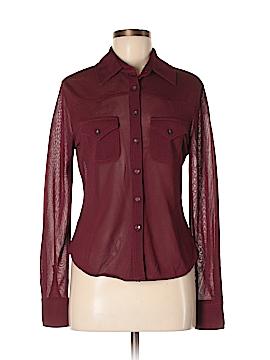 Valerie Stevens Long Sleeve Blouse Size M