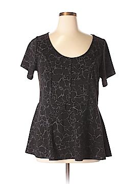 Torrid Short Sleeve Top Size 1X Plus (1) (Plus)