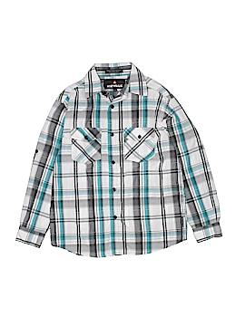 Airwalk Long Sleeve Button-Down Shirt Size 10 - 12