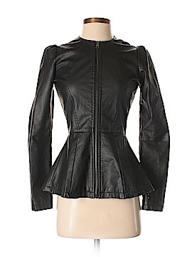 Maralyn & Me Faux Leather Jacket Size XS
