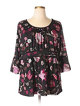 Venezia 3/4 Sleeve Top Size 18 - 20 Plus (Plus)