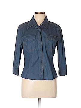 D&G Dolce & Gabbana Long Sleeve Button-Down Shirt Size XXL