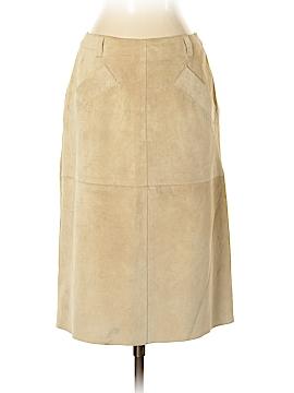 Isaac Mizrahi Leather Skirt Size 4