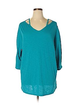 Catherines 3/4 Sleeve Top Size 0X (Plus)