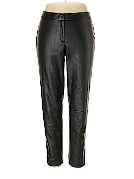 Liz Claiborne Faux Leather Pants Size 16