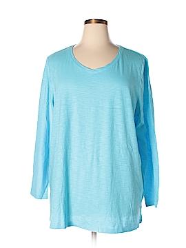 Catherines Long Sleeve T-Shirt Size 1X (Plus)
