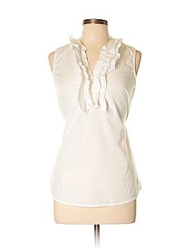 Merona Sleeveless Button-Down Shirt Size M