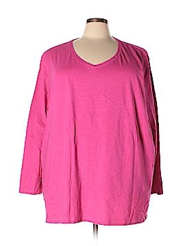 Catherines Long Sleeve T-Shirt Size 5X (Plus)