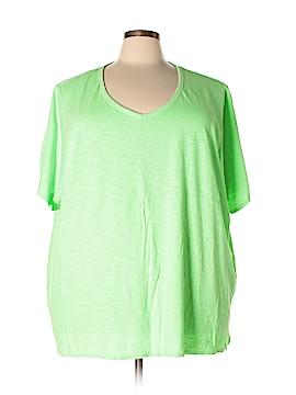 Catherines Short Sleeve T-Shirt Size 4X (Plus)