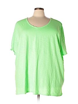 Catherines Short Sleeve T-Shirt Size 5X (Plus)