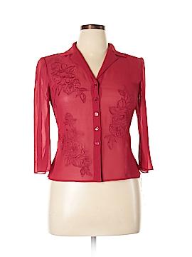 Polly & Esther Long Sleeve Button-Down Shirt Size XL