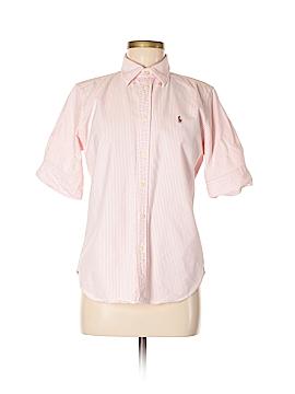 Ralph Lauren Short Sleeve Button-Down Shirt Size M