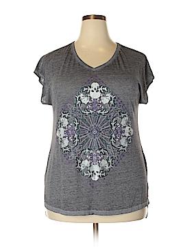 Rock & Republic Short Sleeve T-Shirt Size 1X (Plus)