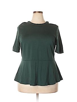 Eloquii Short Sleeve Top Size 18 (Plus)