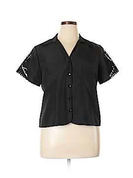 BFA Classics Short Sleeve Blouse Size 14 (Petite)
