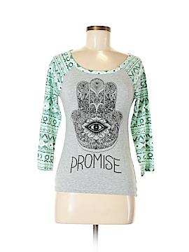 Hybrid Apparel 3/4 Sleeve T-Shirt Size M