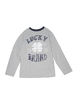 Lucky Brand Long Sleeve T-Shirt Size S (Kids)