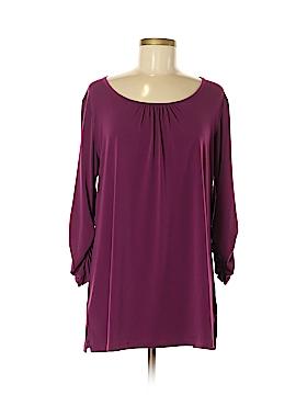 Susan Graver 3/4 Sleeve Top Size M