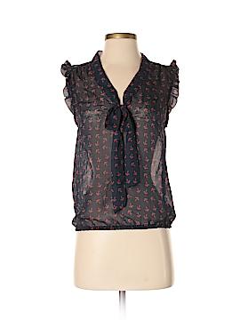 Eyelash Couture Short Sleeve Blouse Size S