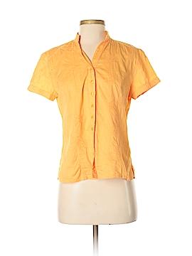 Relativity Short Sleeve Button-Down Shirt Size S