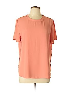 Ann Taylor LOFT Short Sleeve Blouse Size L