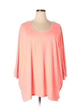 Catherines 3/4 Sleeve T-Shirt Size 5X (Plus)