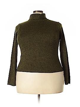 Sag Harbor Turtleneck Sweater Size 18 (Plus)