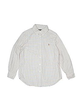 Ralph Lauren Long Sleeve Button-Down Shirt Size M (Kids)