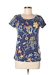 Lands' End Women Short Sleeve T-Shirt Size XS