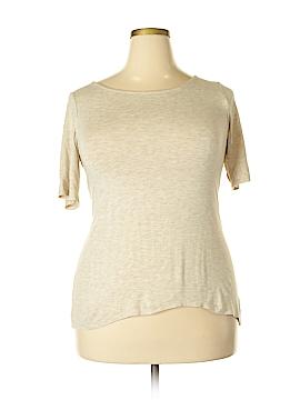 Kim & Cami Short Sleeve Top Size 2X (Plus)