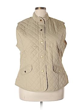 Mary McFadden Vest Size 3X (Plus)
