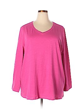 Catherines Long Sleeve T-Shirt Size 2X (Plus)