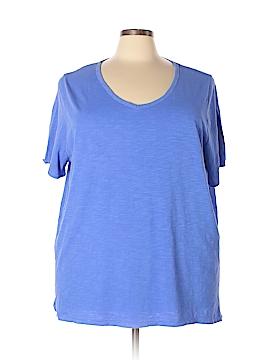 Catherines Short Sleeve T-Shirt Size 3X (Plus)
